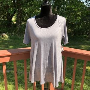 Ladies LuLaRoe Grey High Low Summer Dress, XS, NWT